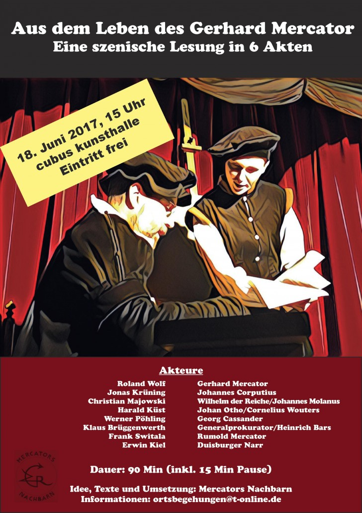 Plakat Szenische Lesung 18. Juni