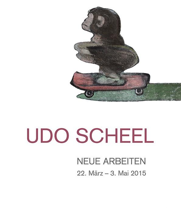 Udo Scheel Plakat cubus kunsthalle